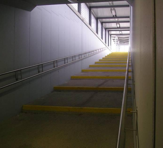 treppe oder rampe